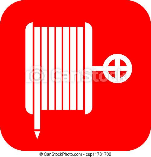 Fire hose reel sign - csp11781702