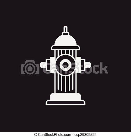 Fire hydrant icon - csp29308288