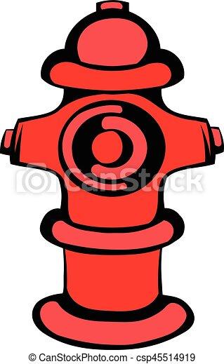 fire hydrant icon icon cartoon fire hydrant icon in icon vector rh canstockphoto com clipart of fire hydrants clipart of fire hydrants