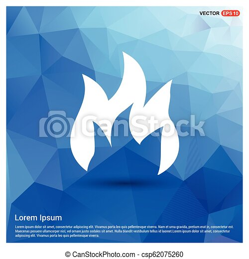 fire icon - csp62075260