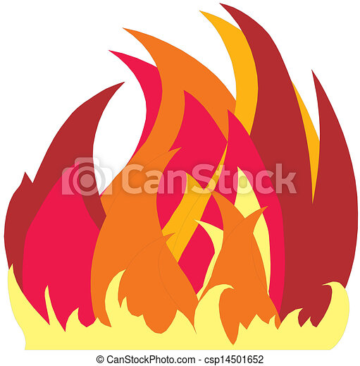 Fire icon - csp14501652