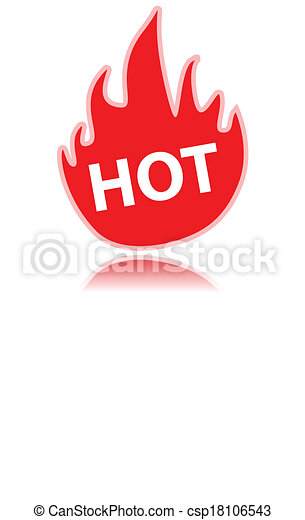 Fire icon - csp18106543
