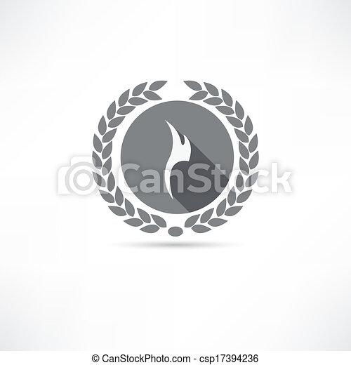 fire icon - csp17394236