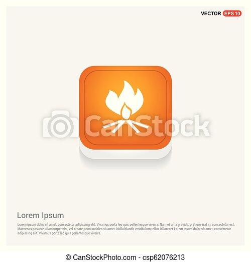 fire icon - csp62076213