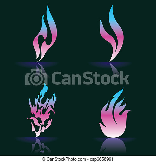 Fire Icons - csp6658991