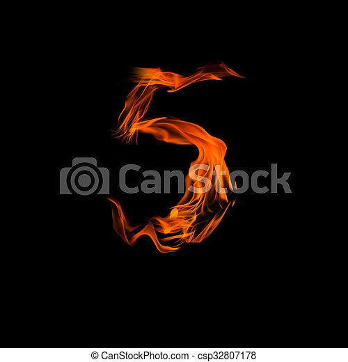 """Fire number """"5"""" - csp32807178"""