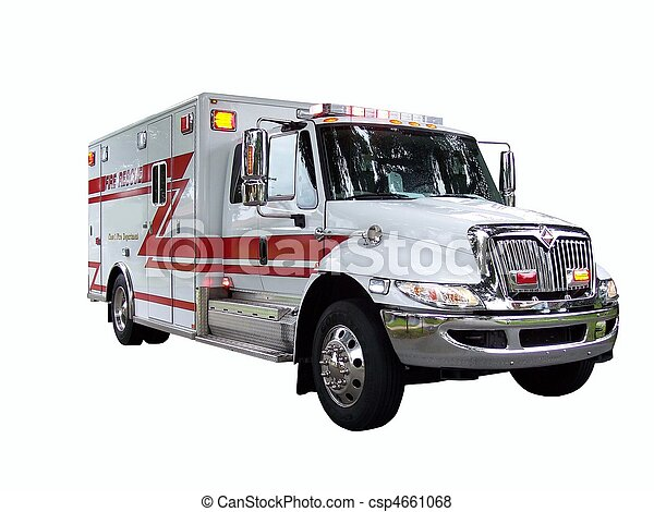 Fire Rescue Truck 1 - csp4661068