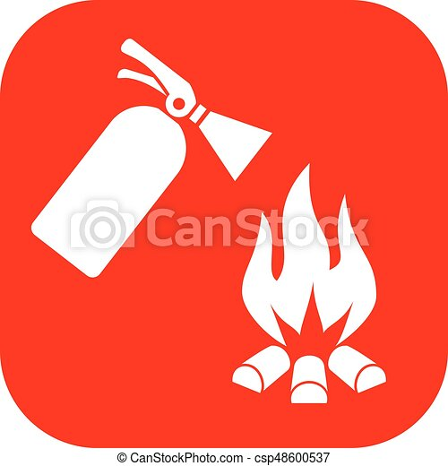 Fire safety sign - csp48600537