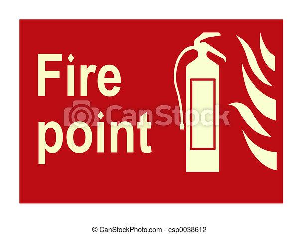 Fire sign - csp0038612