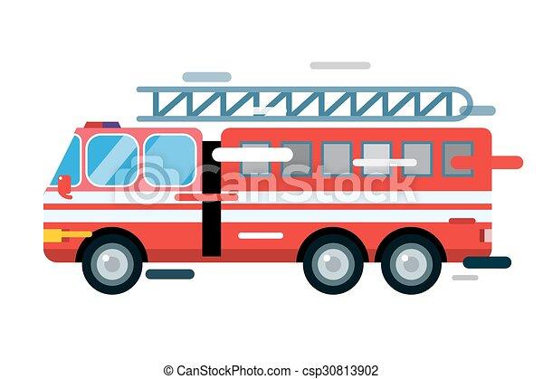 Fire truck fire engine clipart image cartoon firetruck creating -  ClipartBarn