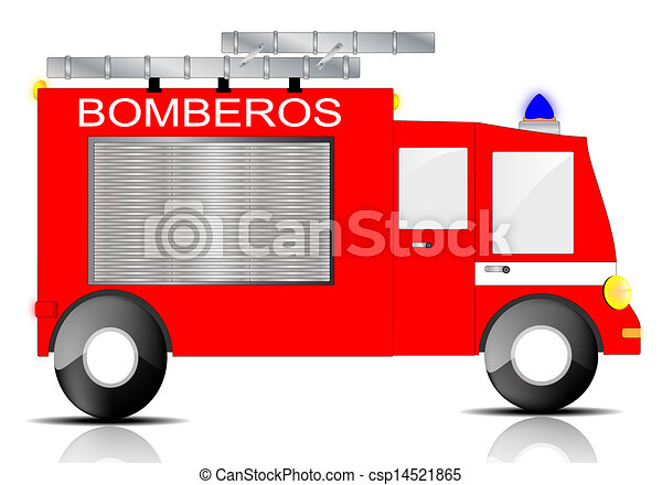 drawing of a fire truck on white background clip art vector search rh canstockphoto com clipart pictures of fire engine fire engine clip art free