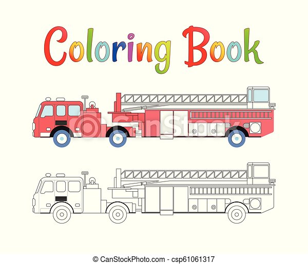 Outstanding Garbage Truck Coloring Book Picture Inspirations ... | 391x450