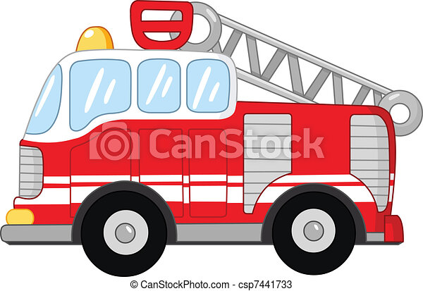 fire truck isolated on white background clip art search rh canstockphoto com fire engine clip art black white fire truck clipart
