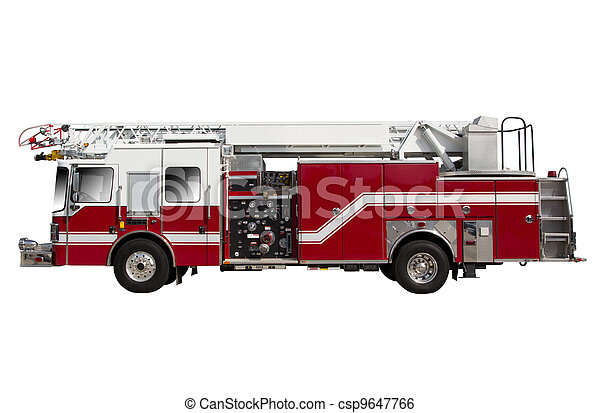 Fire Truck - csp9647766