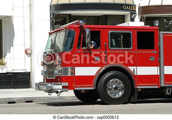 Fire truck - csp0003612