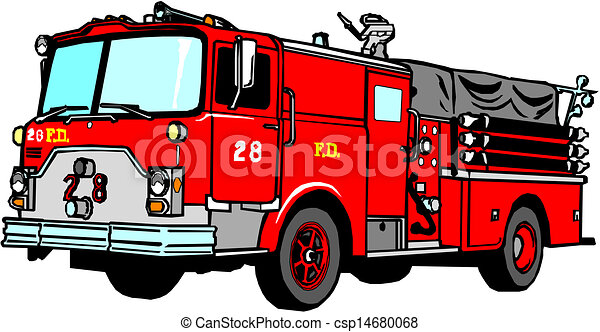 fire truck stock illustrations 4 914 fire truck clip art images and rh canstockphoto com clipart fire engine free fire engine clip art black white