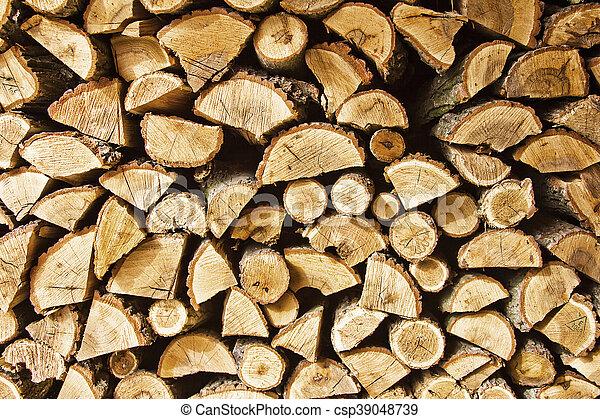Fire wood - csp39048739