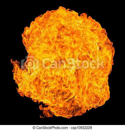 Fireball explosion - csp10932229