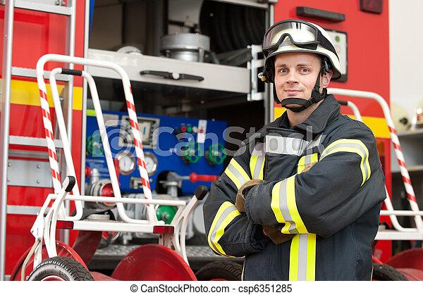 Firefighter - csp6351285