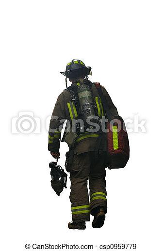 Firefighter - csp0959779