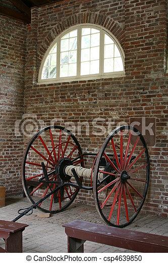 Firehouse wagon - csp4639850