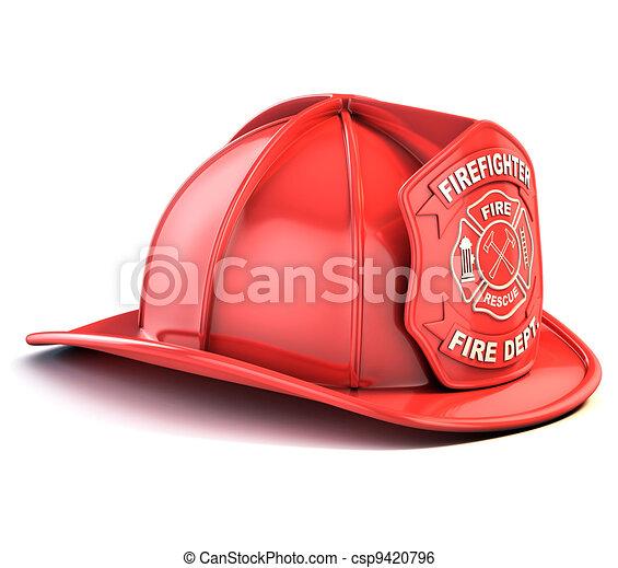 fireman helmet - csp9420796