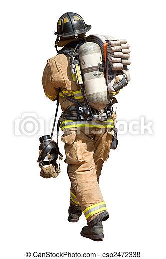 Fireman - csp2472338