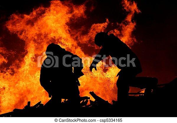 Firemen - csp5334165