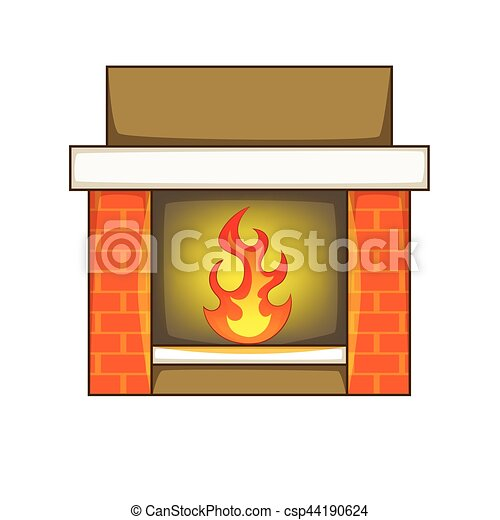 fireplace icon cartoon style fireplace icon cartoon vector rh canstockphoto com fireplace clipart free fireplace clipart christmas