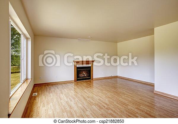 fireplace., stanza, vuoto - csp21882850