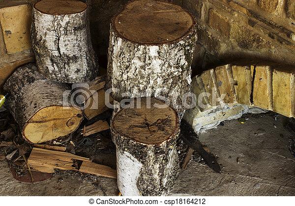 fireplaces - csp18164212
