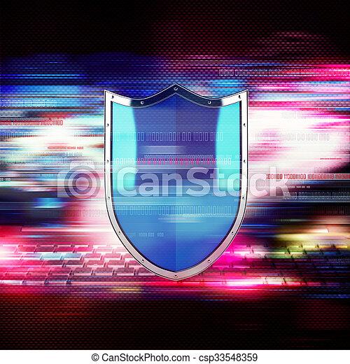 Firewall concept - csp33548359