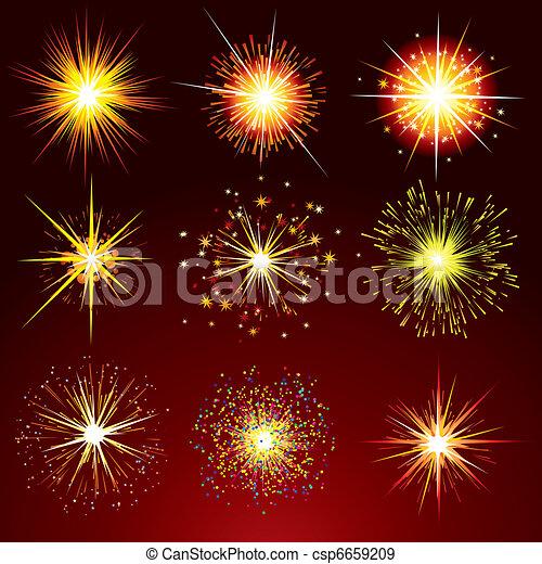 Firework Petards - csp6659209