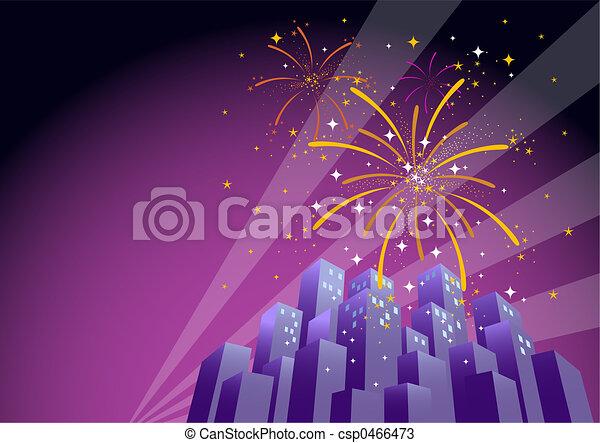 Fireworks 1 - csp0466473