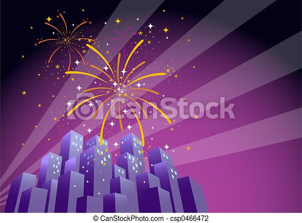 Fireworks 2 - csp0466472