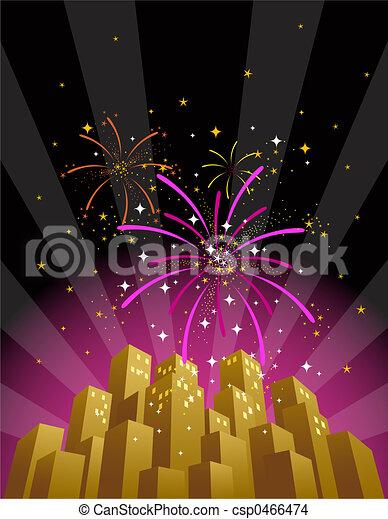Fireworks 3 - csp0466474