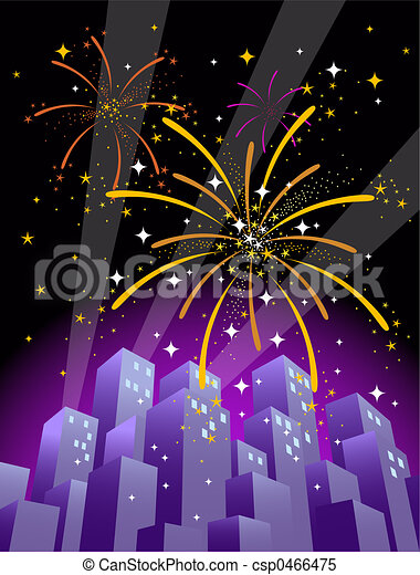 Fireworks 4 - csp0466475
