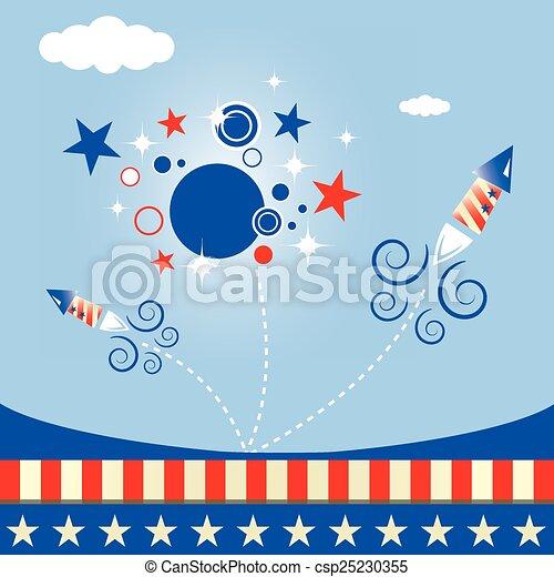 fireworks - csp25230355