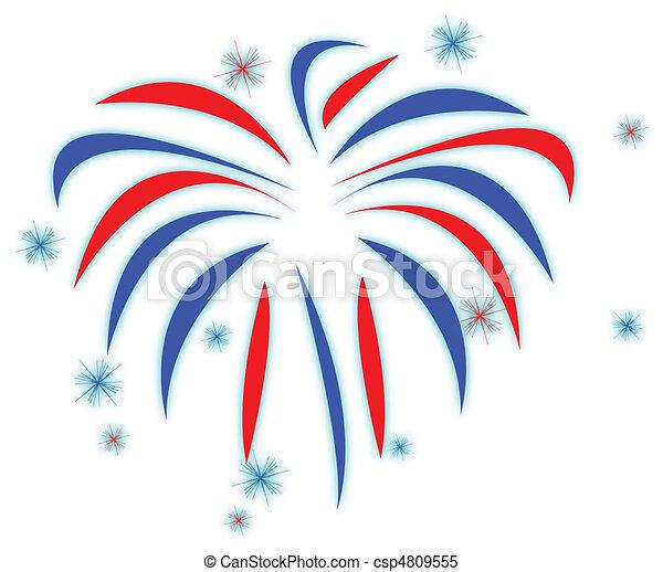Fireworks - csp4809555