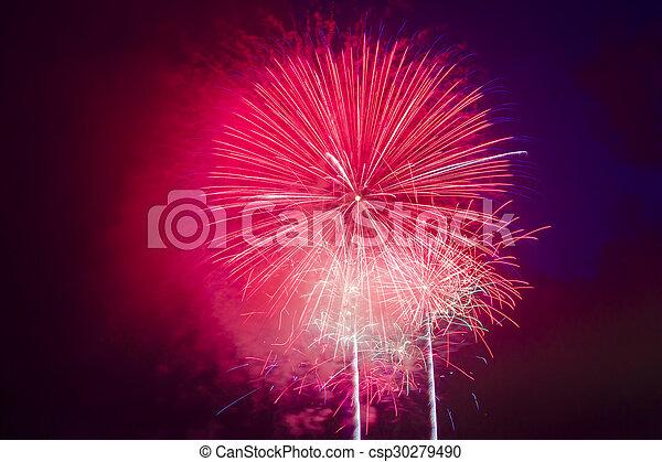 Fireworks Display - csp30279490