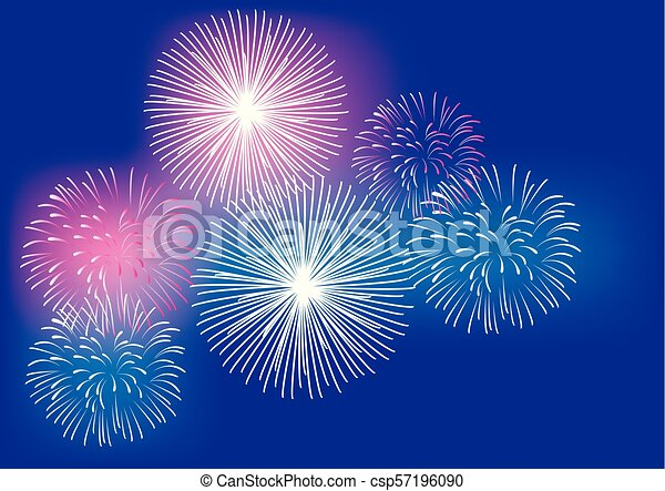 Fireworks - csp57196090