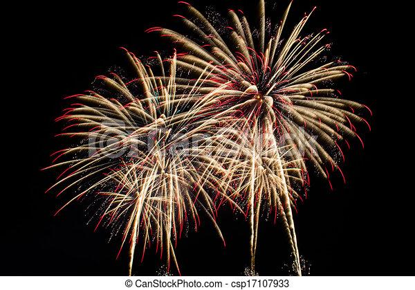Fireworks - csp17107933