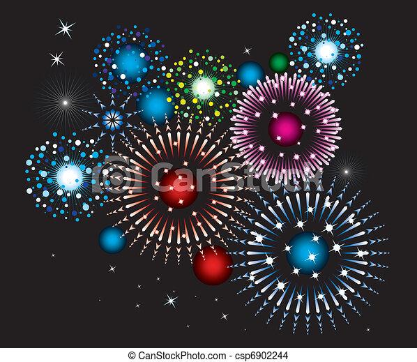 fireworks - csp6902244