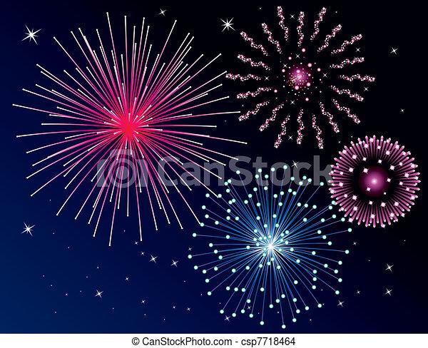 fireworks - csp7718464
