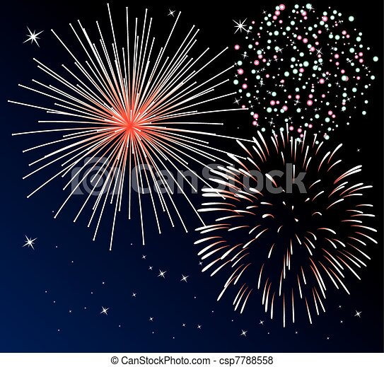 fireworks - csp7788558