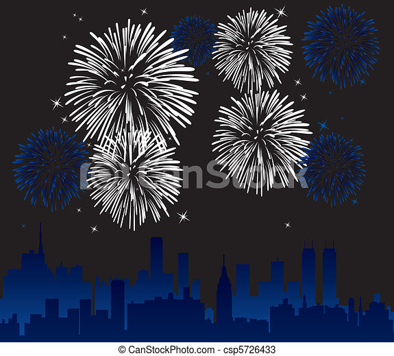fireworks - csp5726433