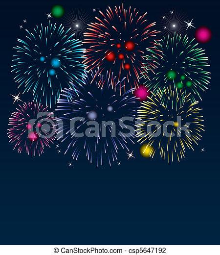 fireworks - csp5647192