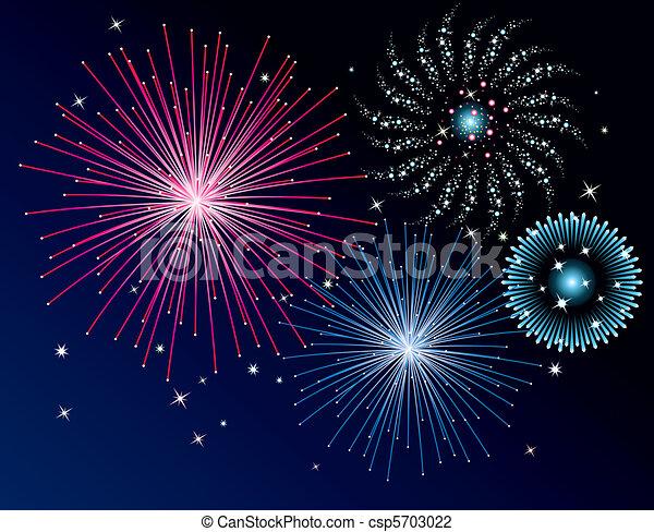 fireworks  - csp5703022