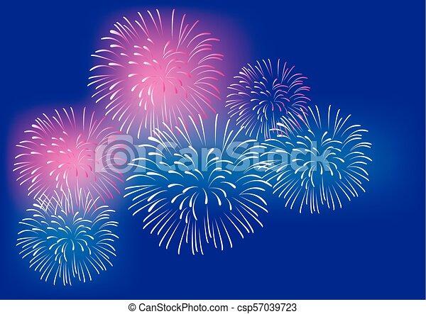 Fireworks - csp57039723