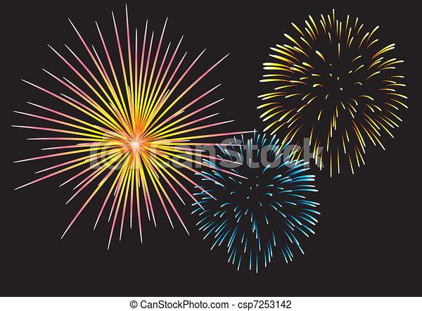 fireworks - csp7253142
